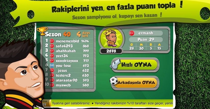 kafa topu online