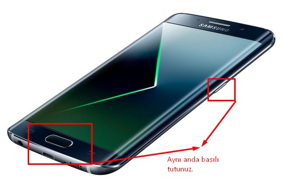 galaxy s7 edge ekran görüntüsü alma