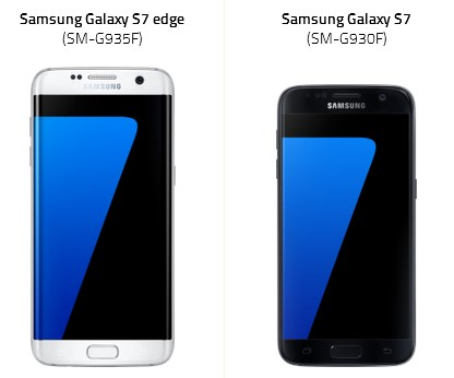 galaxy s7 edge ve galaxy s7ü