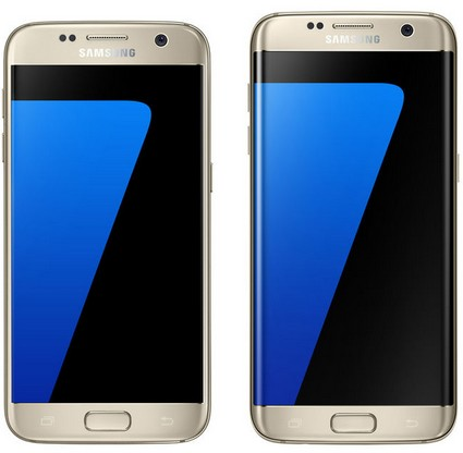 galaxy s7 ve galaxy s7 edge format atma