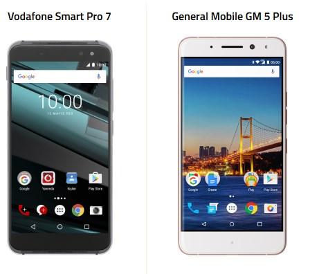 smart pro 7 gm 5 plus farkları
