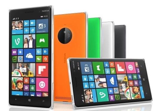 lumia 830 ekran resmi