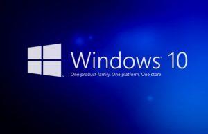 windows 10 sürüm numarası