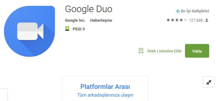 google-duo-indir