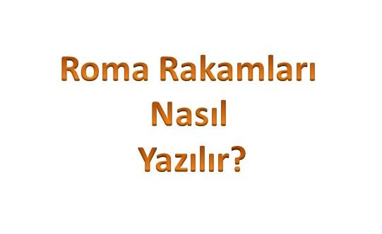 roma-rakam