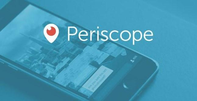 periscope nasıl silinir