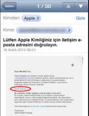 apple kimliği
