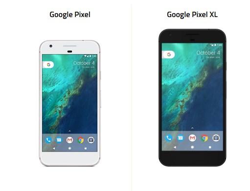 google-pixel-ile-pixel-xl-farki